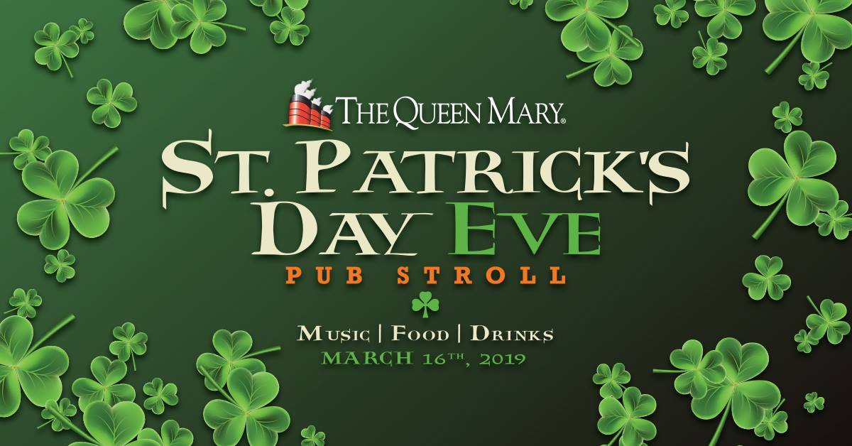 Queen Mary St. Patrick's Day Eve Pub Stroll