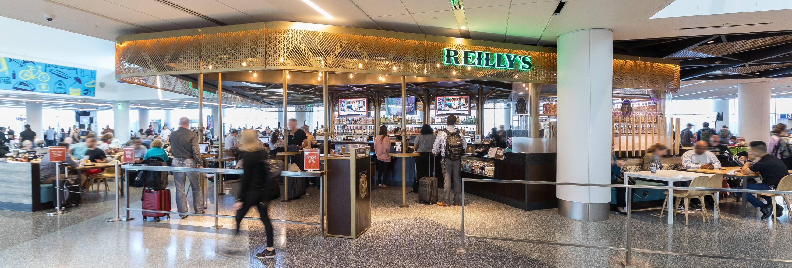 Reilly's Irish Pub at LAX Terminal 1