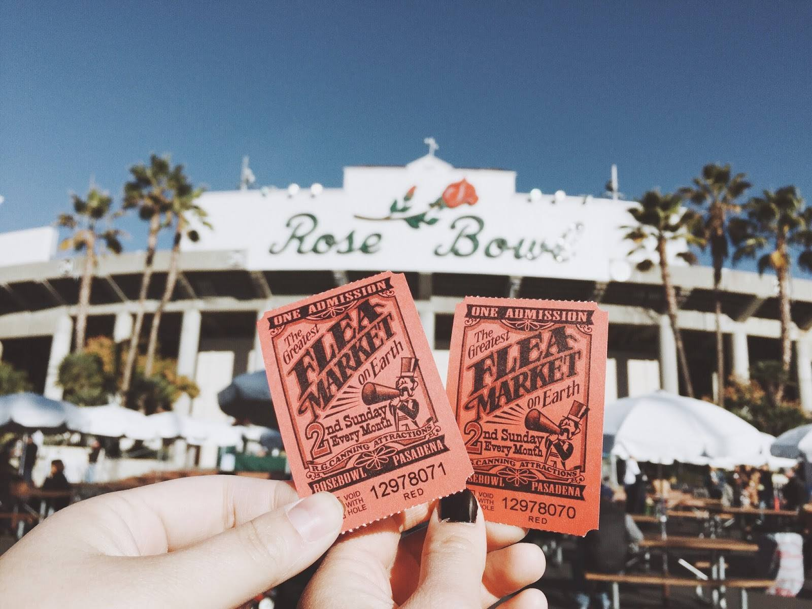 Rose Bowl Flea Market Tickets
