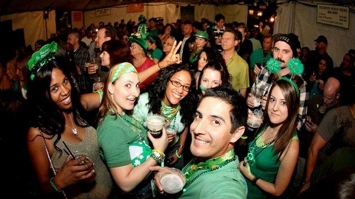 St. Patrick's Day at the Tam