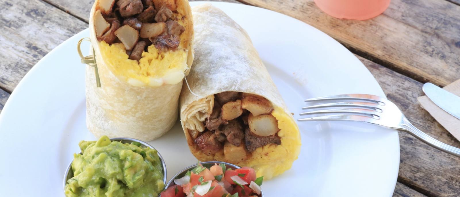 Filet Mignon Breakfast Burrito   |  Photo: Yuri Hasegawa