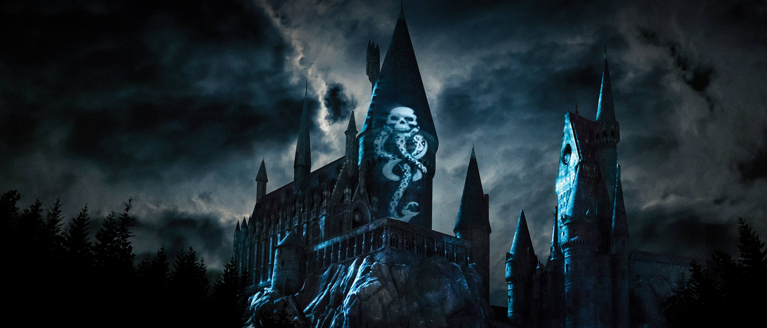 The Dark Arts at Hogwarts™ Castle in The Wizarding World of Harry Potter™