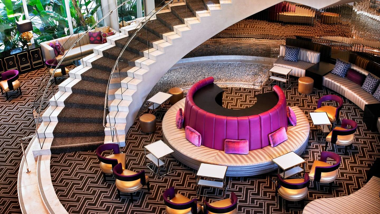 Grand Staircase at W Hollywood