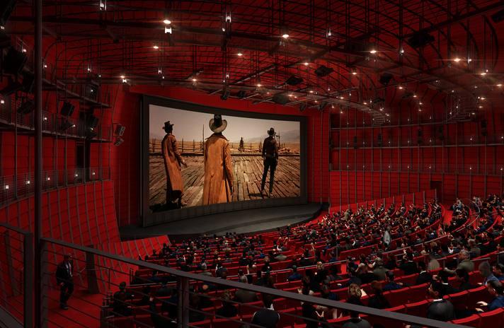 Teatro David Geffen en el Museo Cinematográfico de la Academia