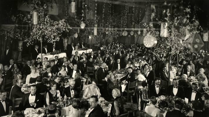 Los primeros Premios de la Academia en el Hotel Hollywood Roosevelt.