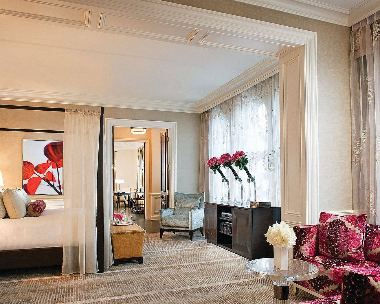 Wilshire Presidential Suite at the Beverly Wilshire Hotel