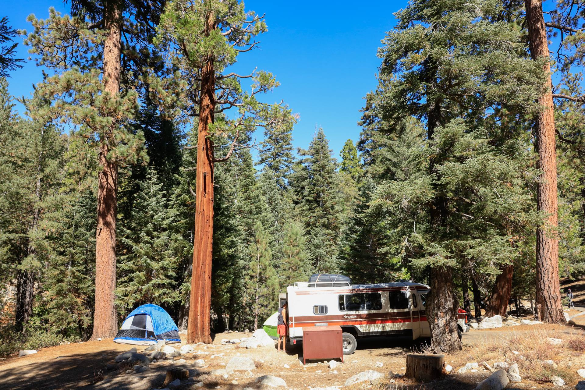 Buckhorn Campground in the Angeles National Forest