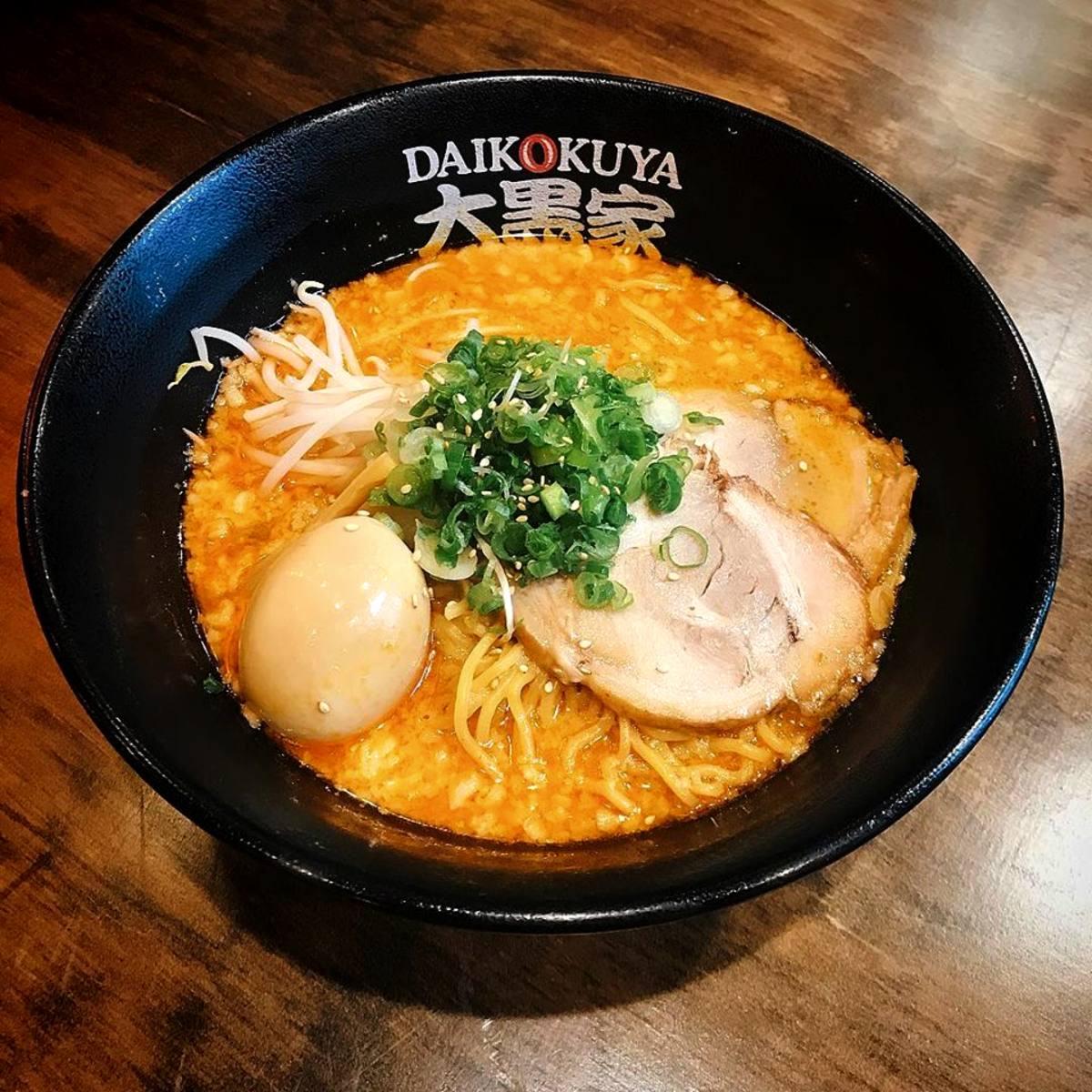 Daikokuya Little Tokyo Spicy Miso Ramen