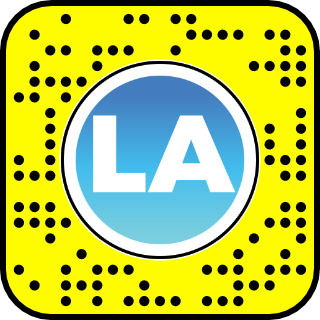 Discover LA Sunset Snapcode