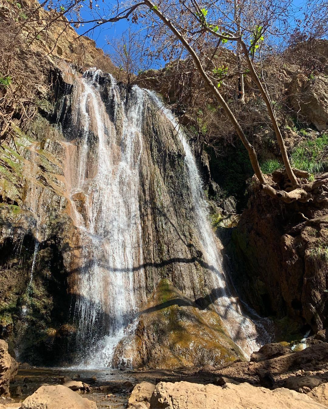Escondido Falls in Malibu