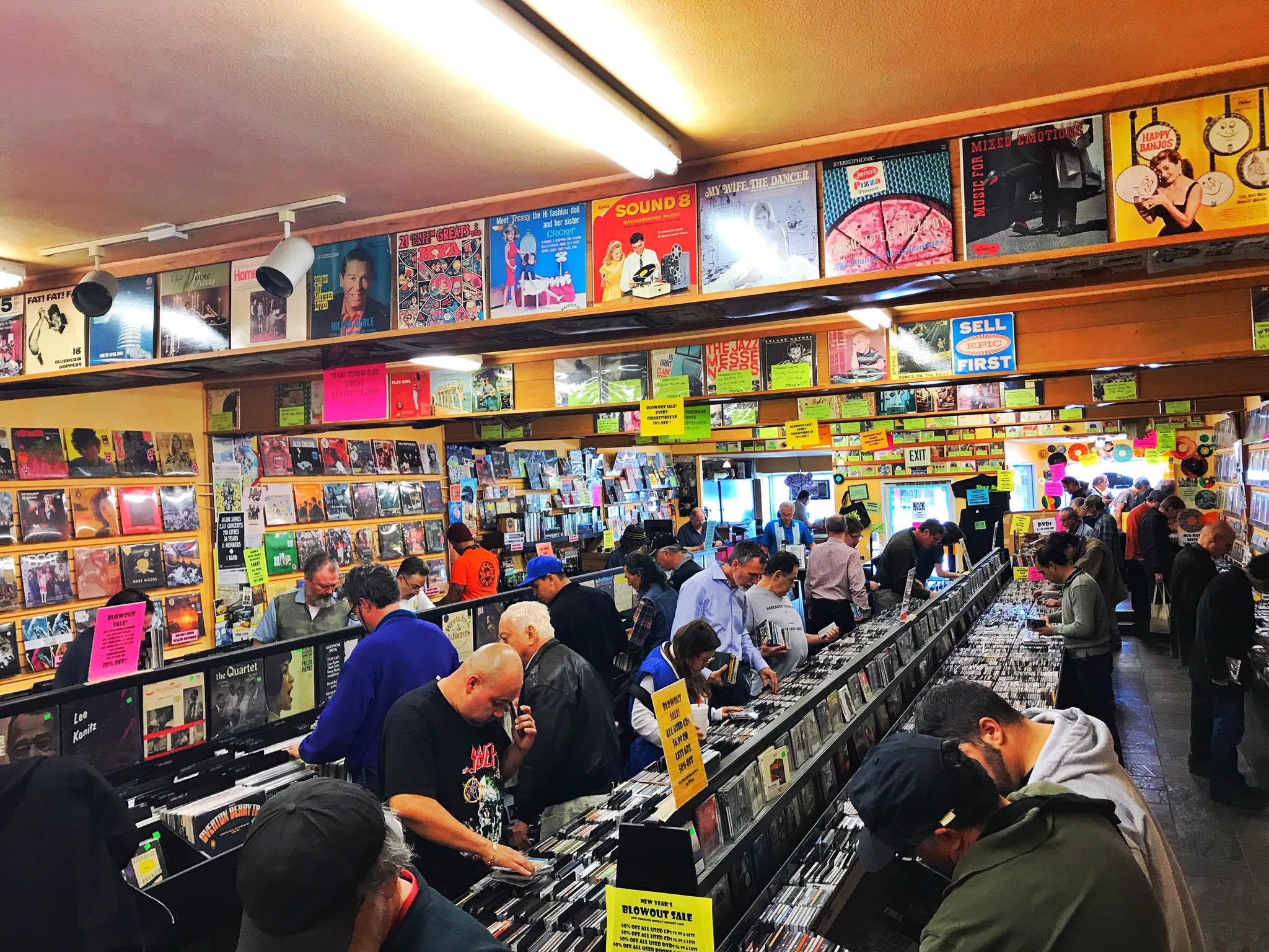 Freakbeat Records in Sherman Oaks