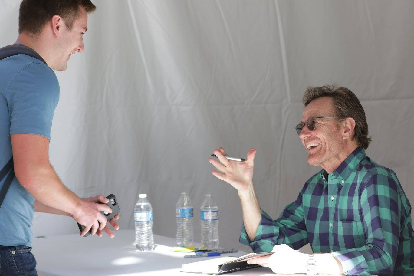 Los Angeles Times Festival of Books Bryan Cranston