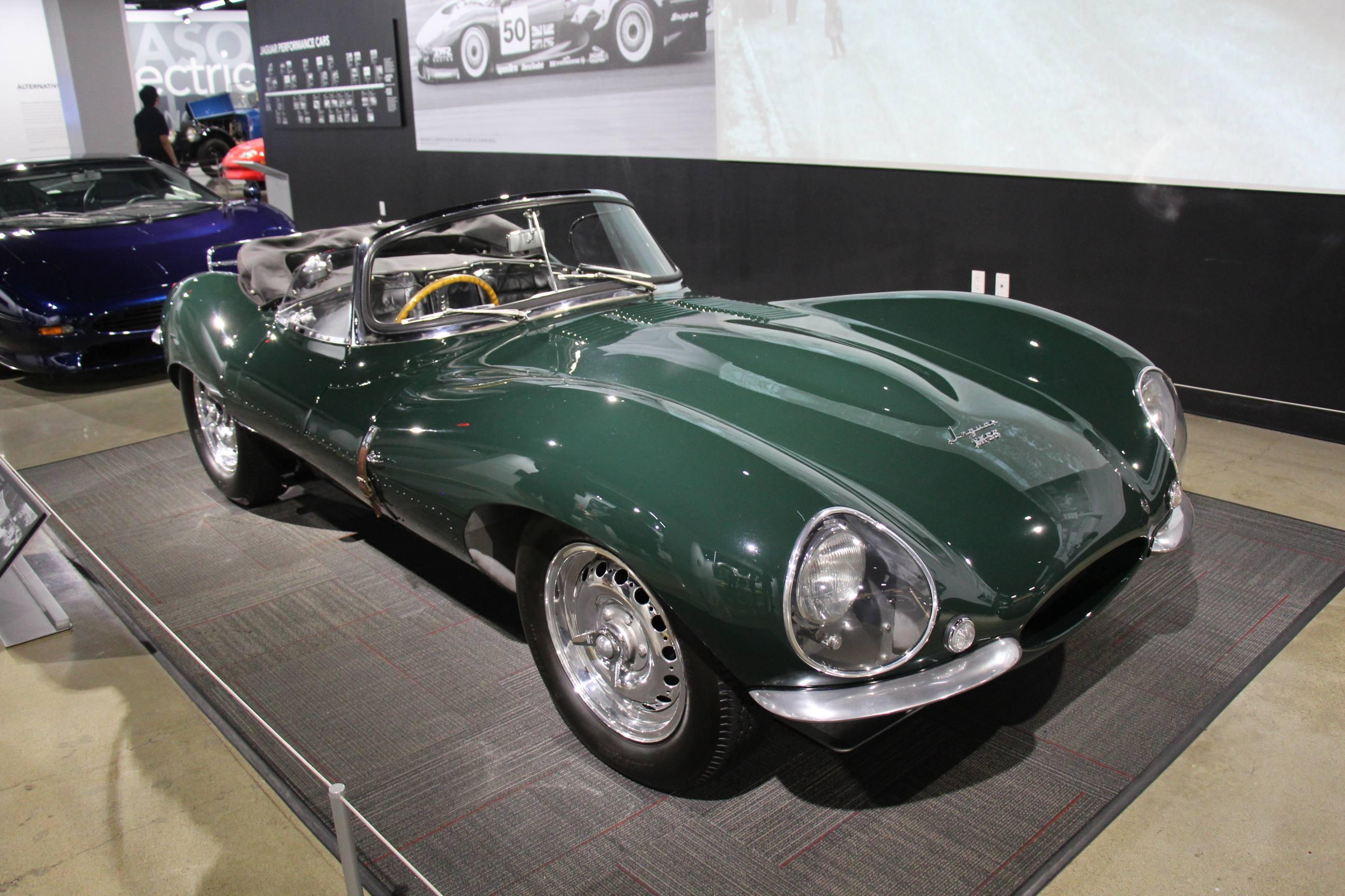 Steve McQueen's 1956 Jaguar XKSS | Petersen Automotive Museum