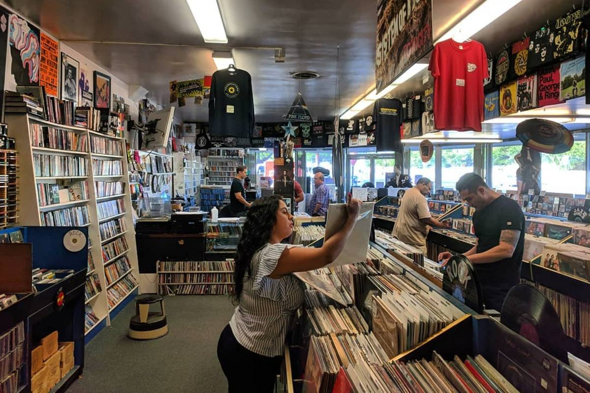 Soundsations Record Store in Westchester