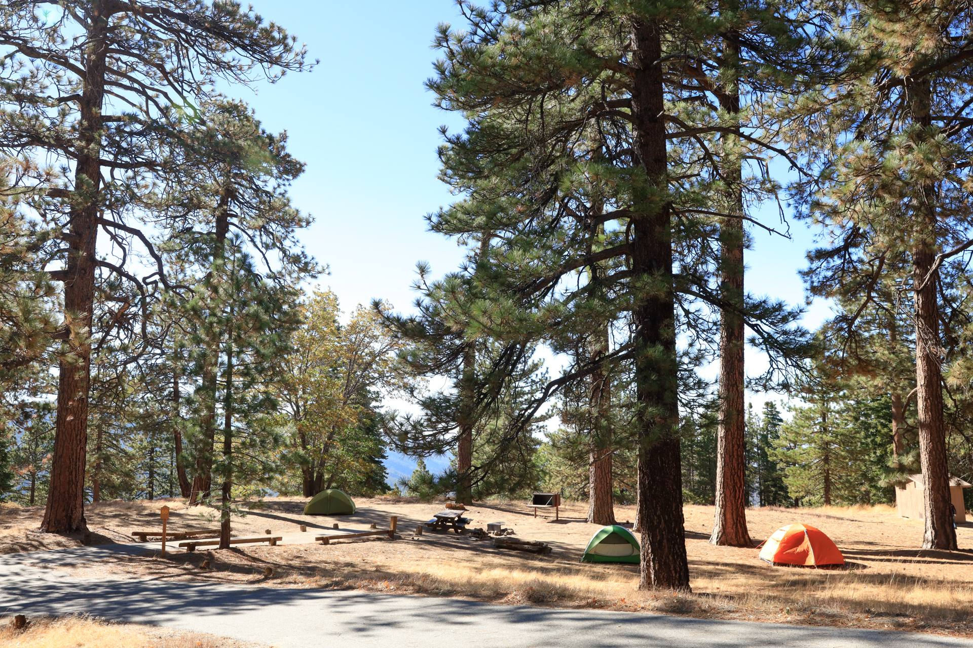 Table Mountain Campground in the Angeles National Forest