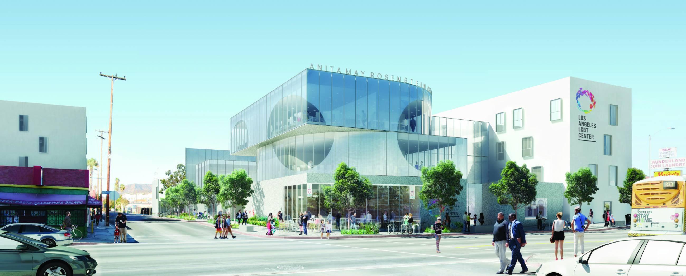 Anita May Rosenstein Campus at the Los Angeles LGBT Center
