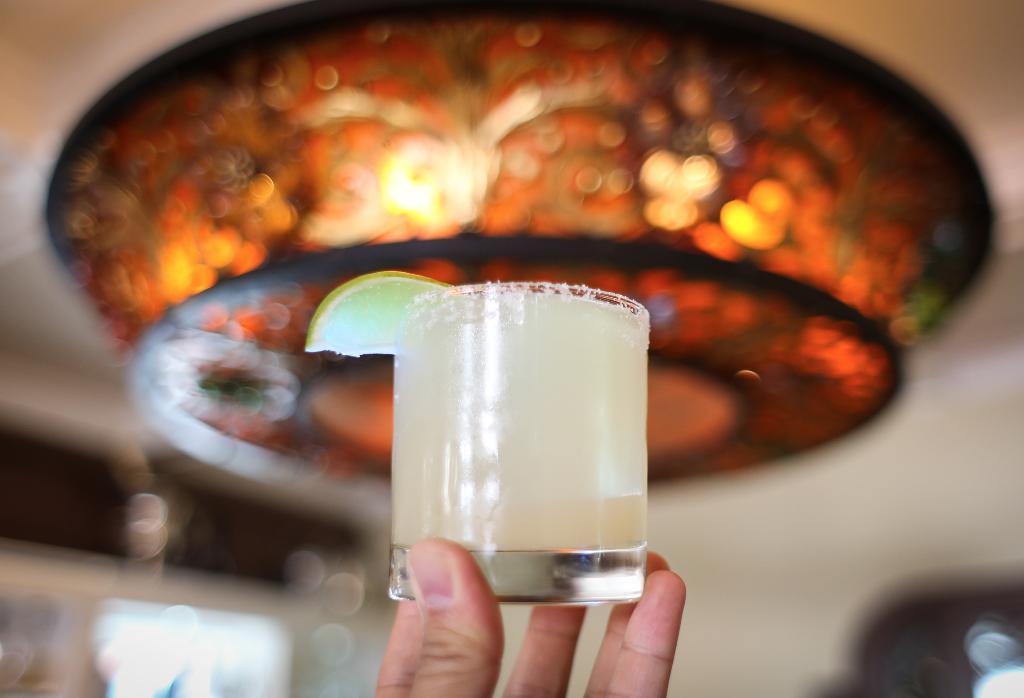 Margarita at Big Bar in Los Feliz