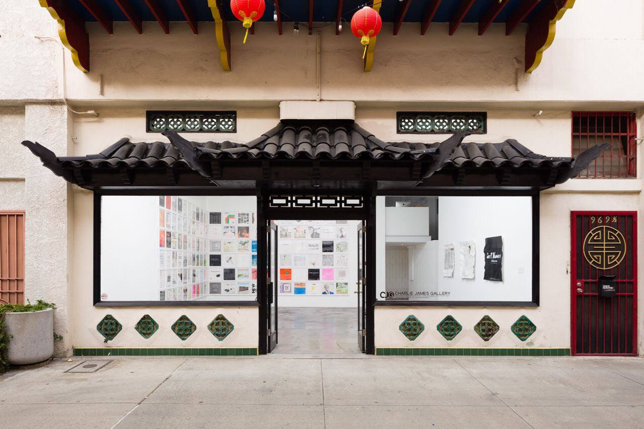 Charlie James Gallery on Chung King Road in Chinatown