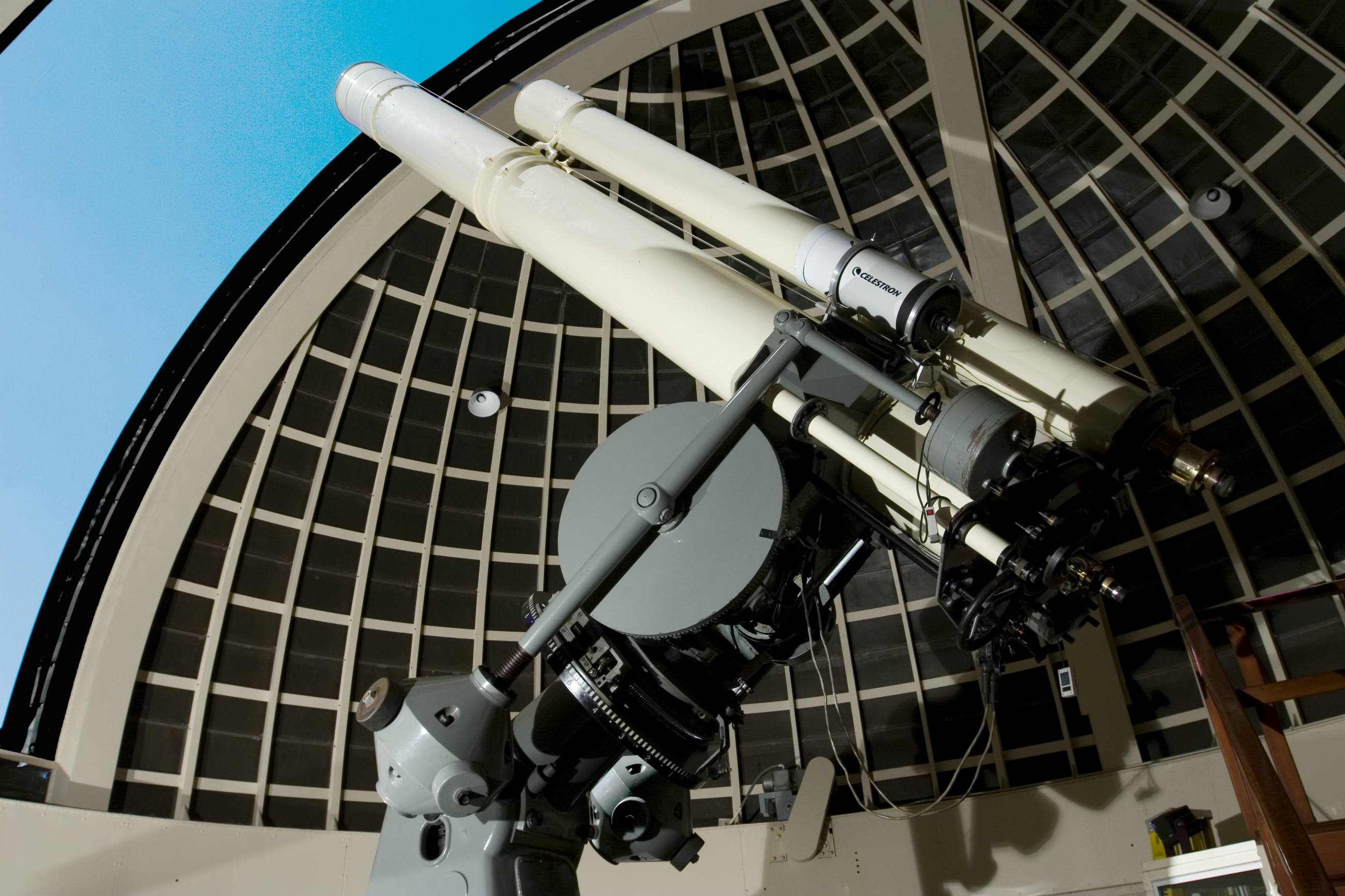 Zeiss Telescope   Photo by Griffith Observatory Astronomical Observer Anthony Cook, © Griffith Observatory