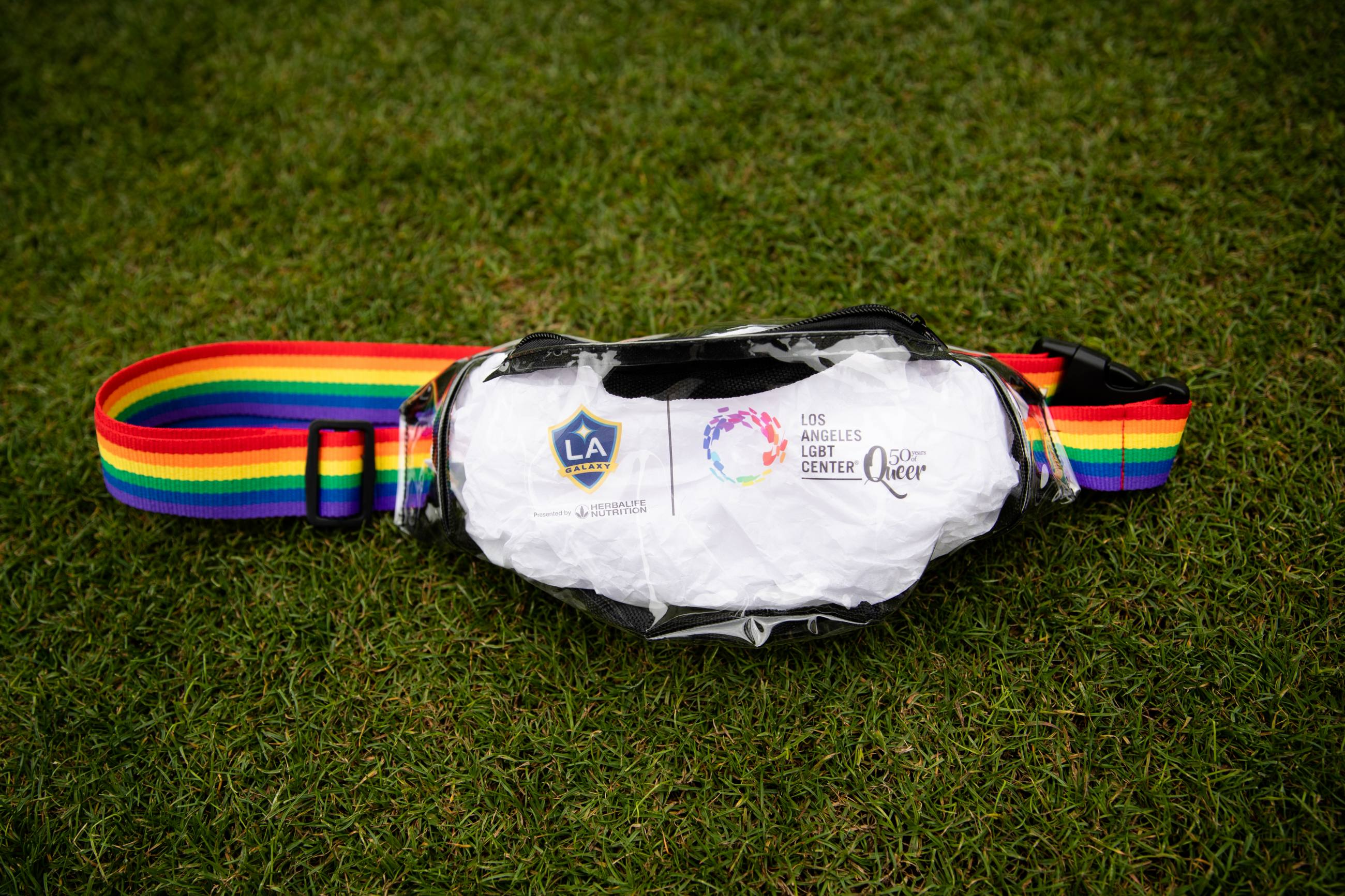 LA Galaxy Pride Night 2019 Fanny Pack