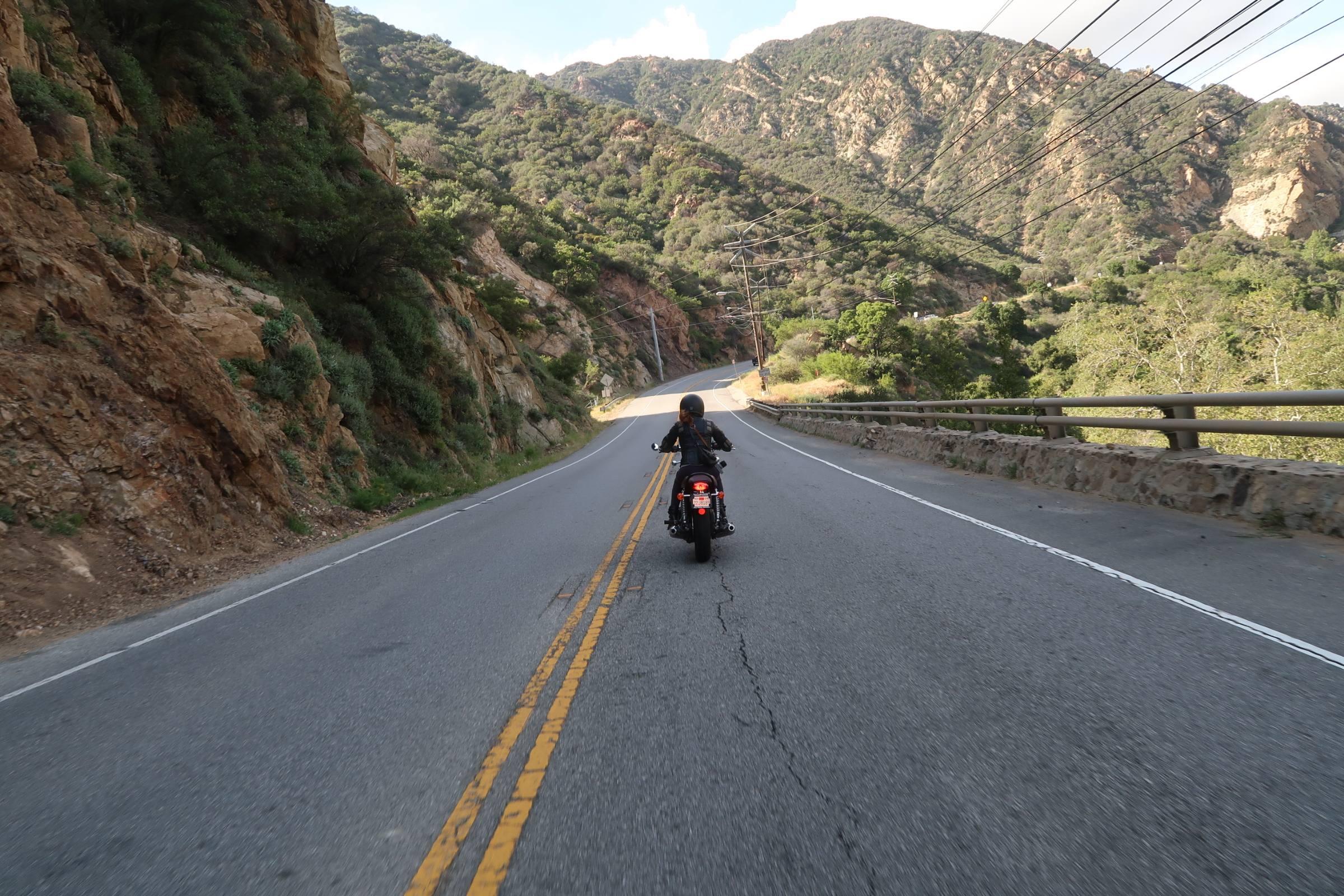 Malibu Canyon Motorcycle Ride Irena Murphy