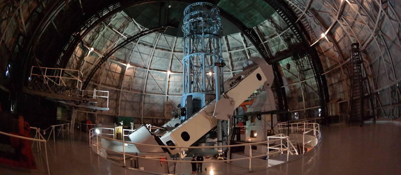100-inch Hooker telescope at Mount Wilson Observatory