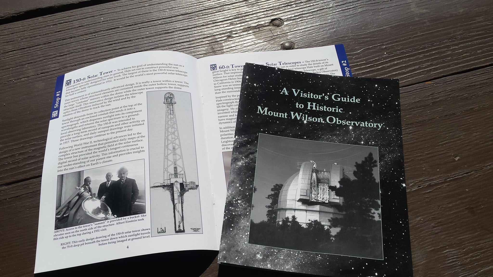 Mount Wilson Observatory Visitor's Guide