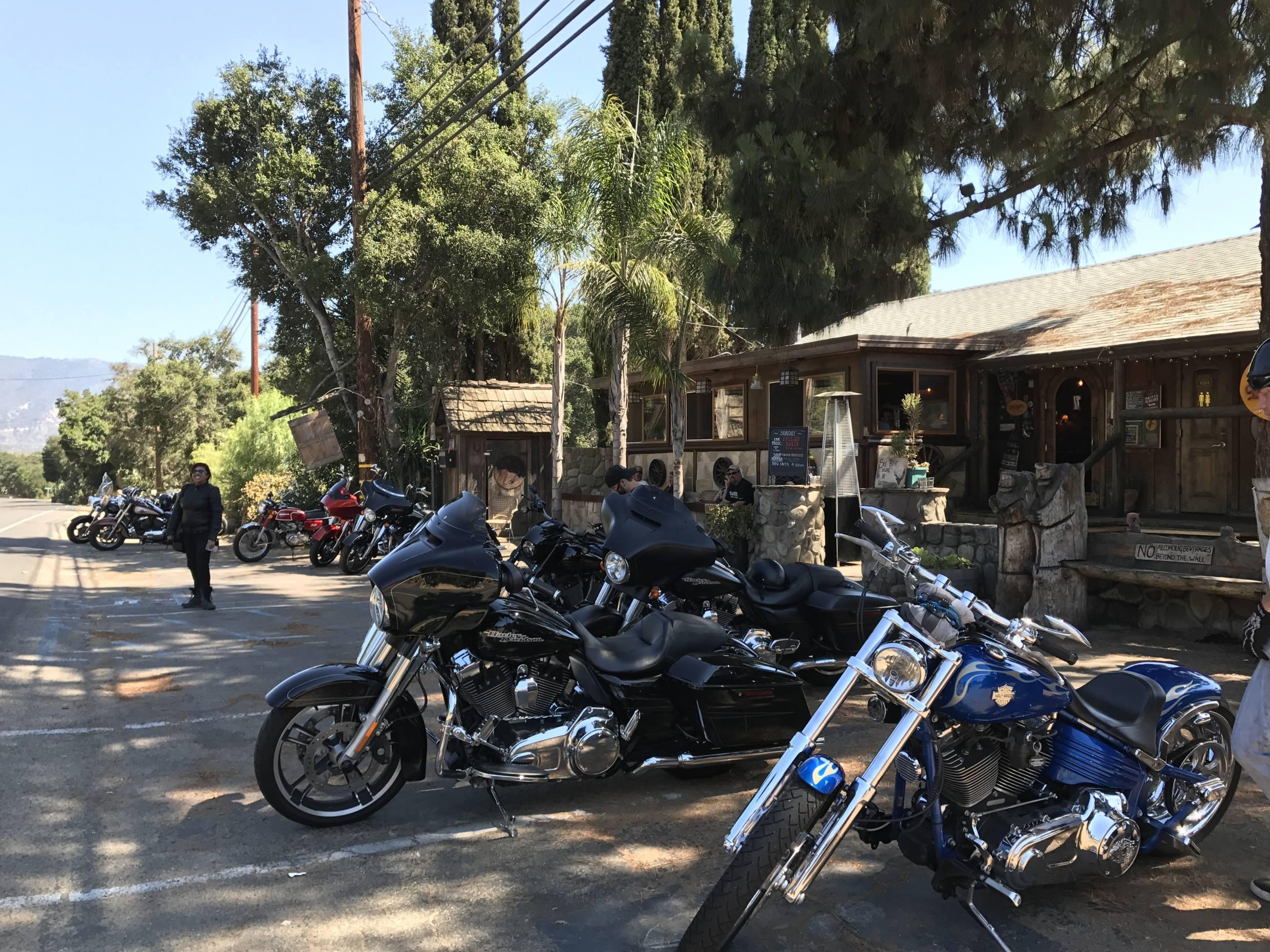 Ojai Deer Lodge Motorcycle Ride Irena Murphy