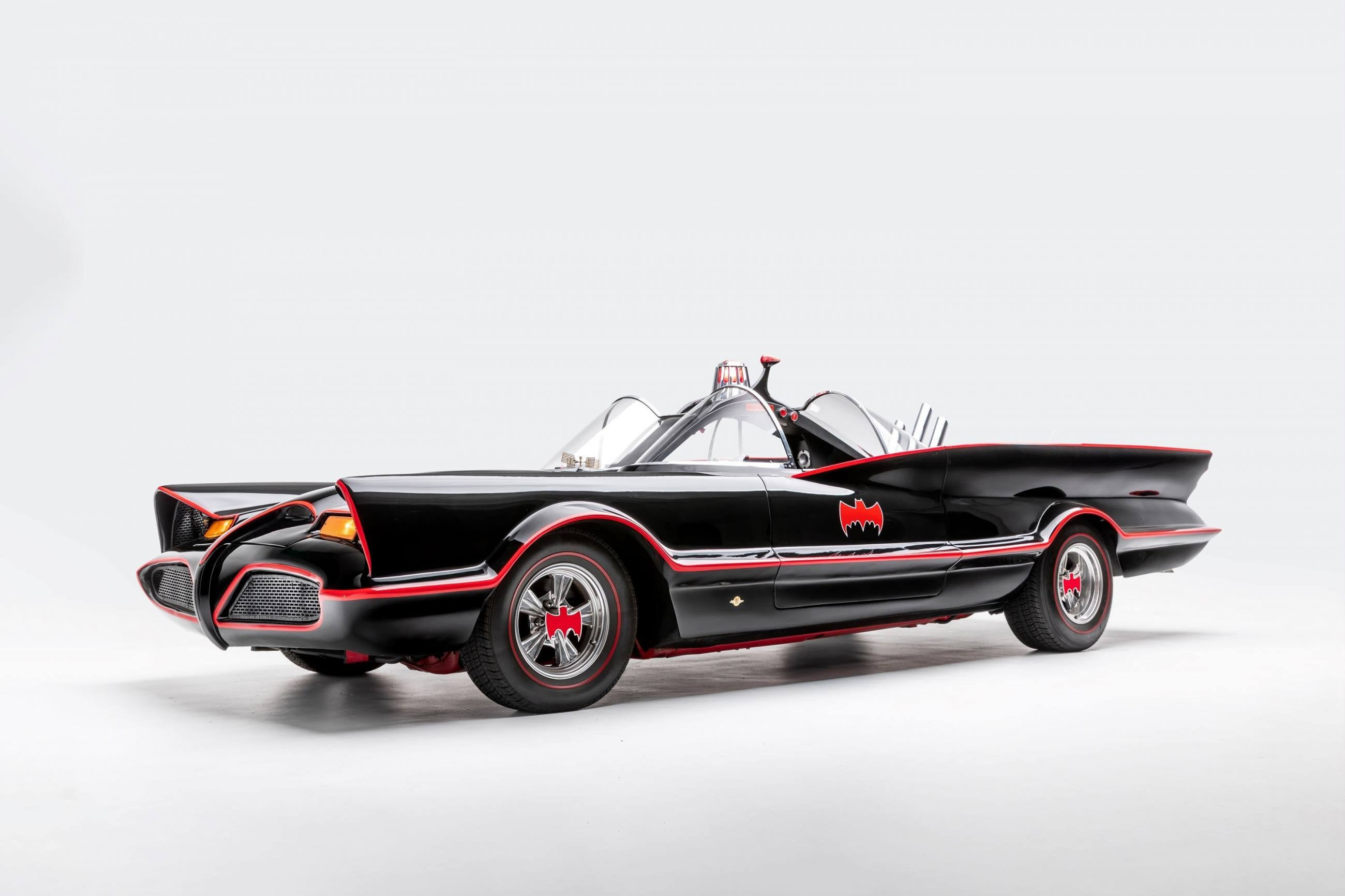 Replica of the 1966 Batmobile | Photo: Petersen Automotive Museum