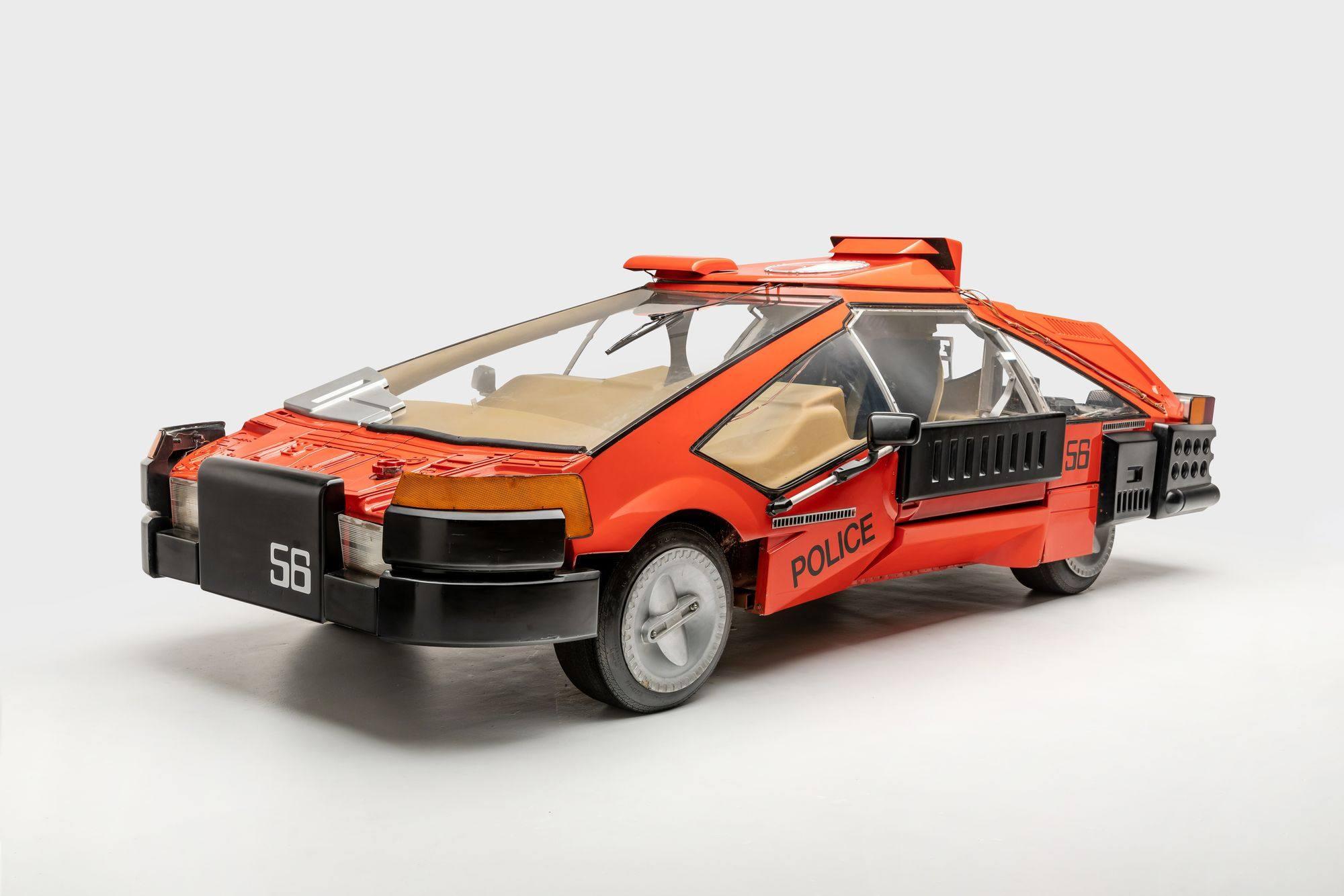 Deckard's sedan from Blade Runner (1982) | Photo: Petersen Automotive Museum