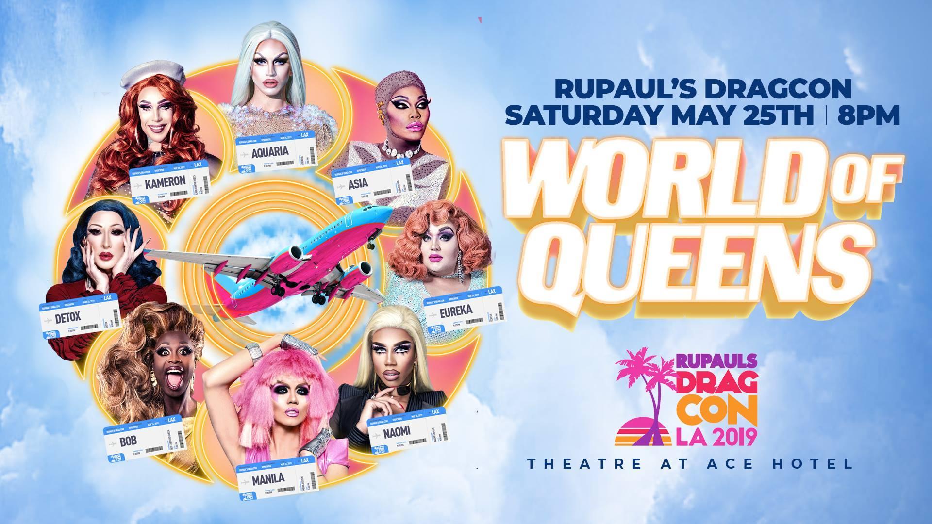 RuPaul's DragCon World of Queens 2019