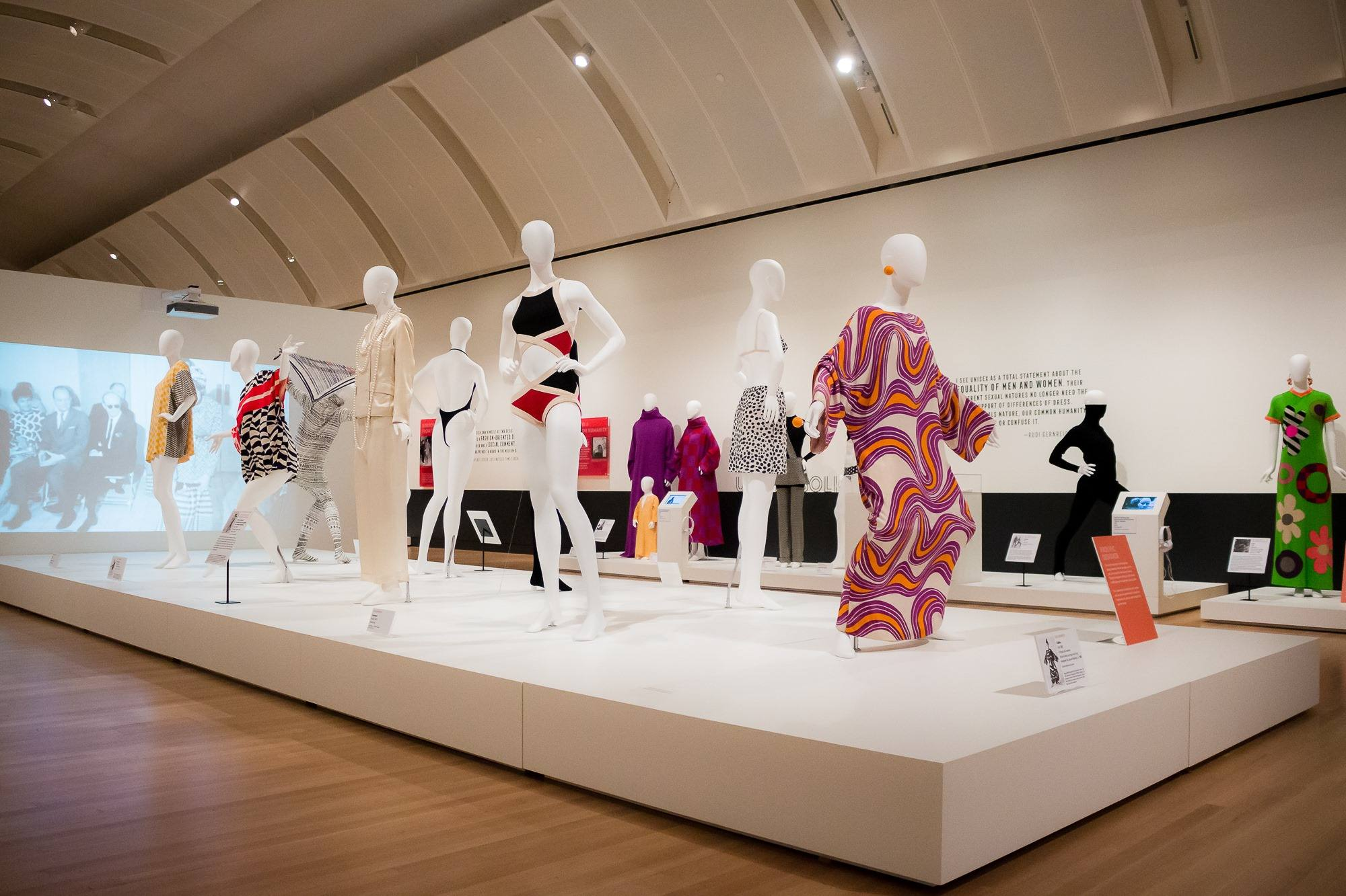 """Fearless Fashion: Rudi Gernreich"" at the Skirball Cultural Center"