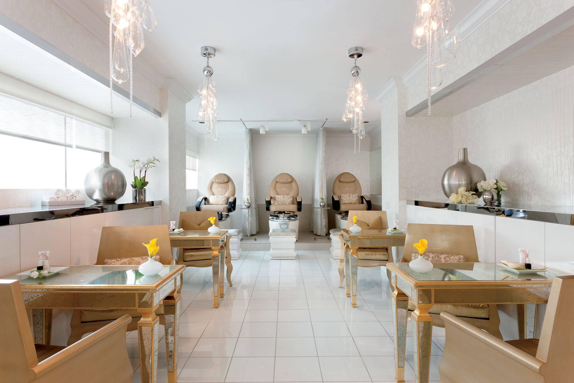 The Ritz-Carlton Los Angeles Spa Mani Pedi