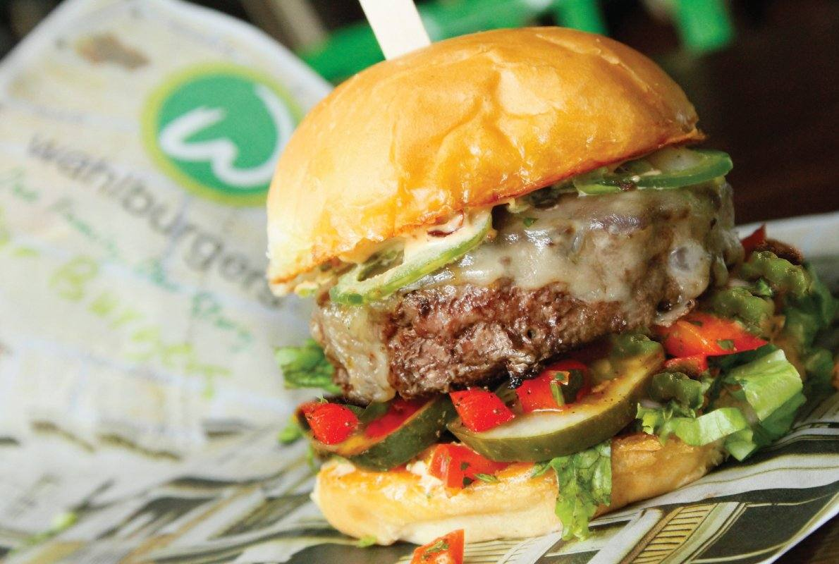 Fiesta Burger at Wahlburgers USC Village