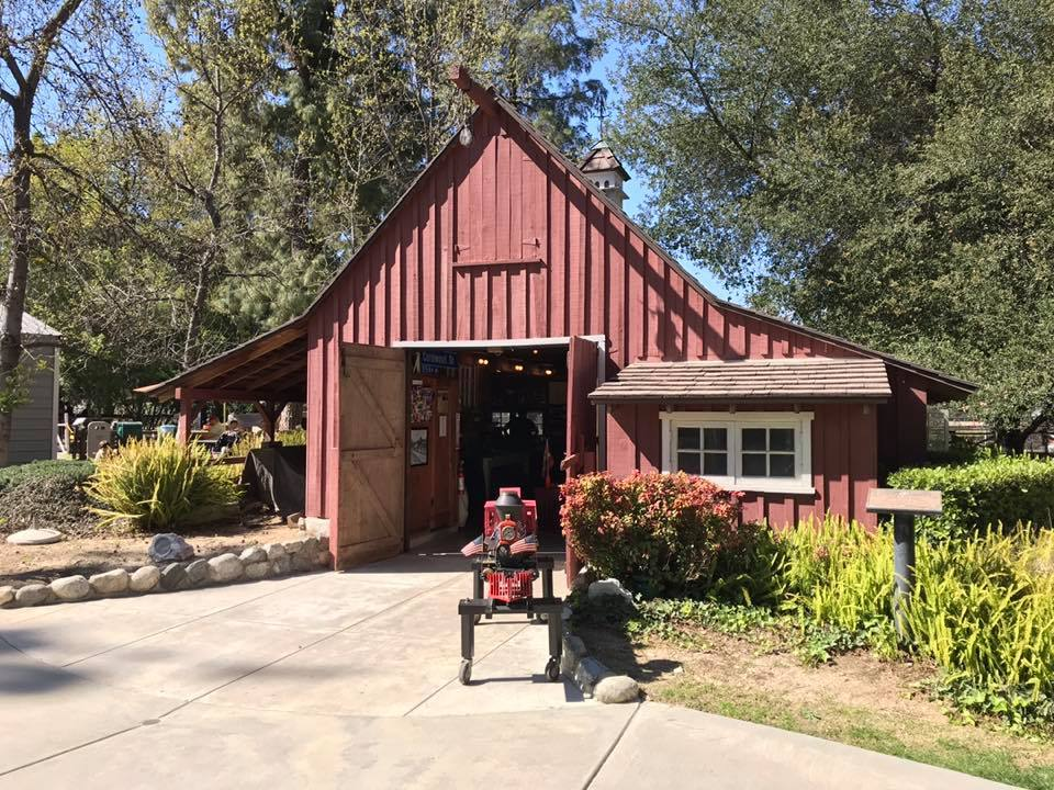 Walt Disney's Carolwood Barn in Griffith Park