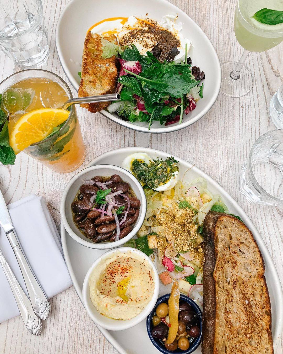 Brunch at Botanica | Photo: @alexandrajoywig, Instagram