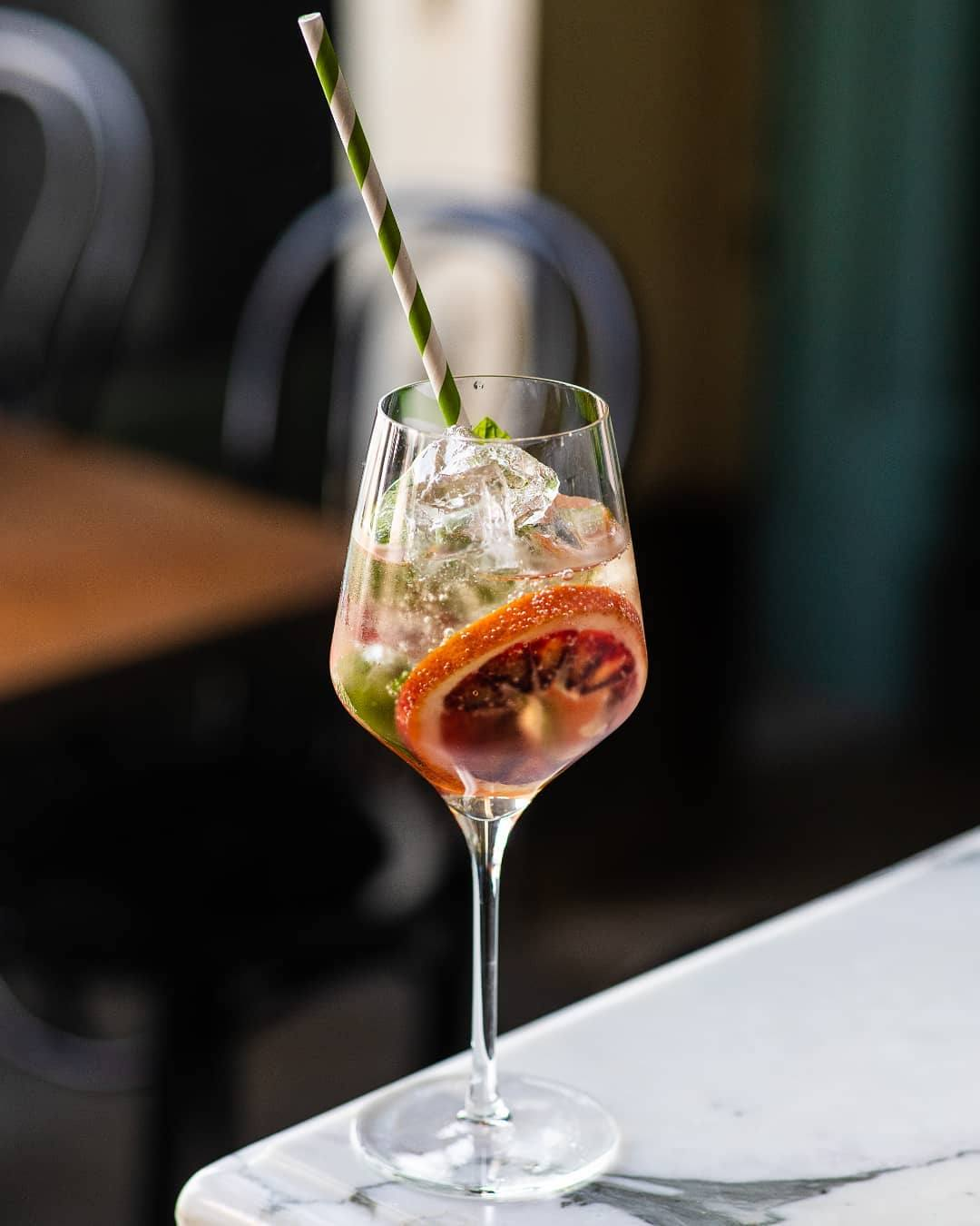 Penelope Spritz at Cafe Birdie | Photo: @cafebirdiela, Instagram