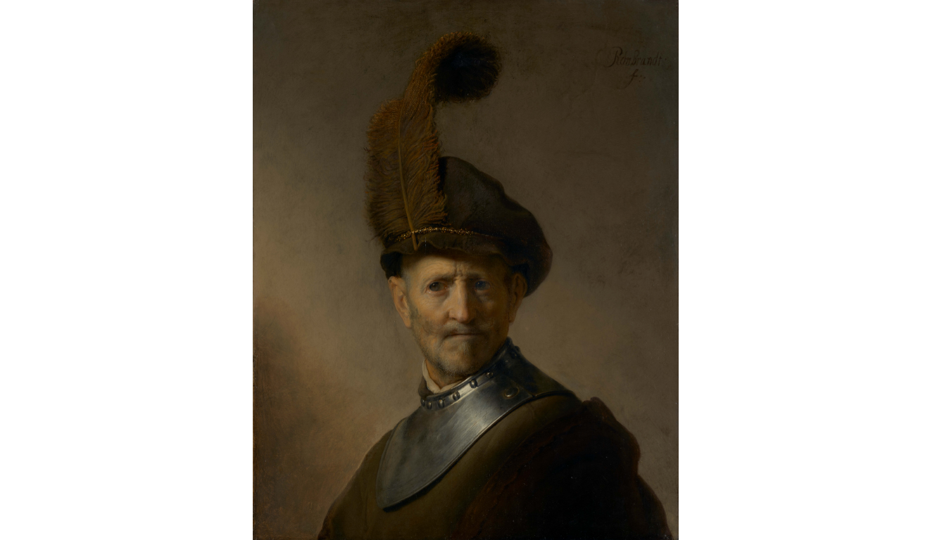 "Rembrandt ""An Old Man in Military Costume"" at the Getty Center"