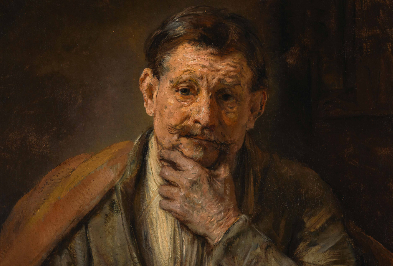 "Rembrandt ""Saint Bartholomew"" at the Getty Center"