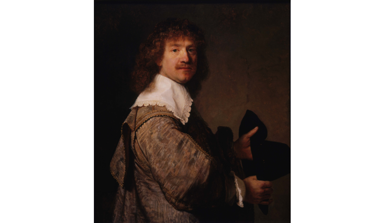 "Rembrandt ""Portrait of a Man Holding a Black Hat"" at the Hammer Museum"