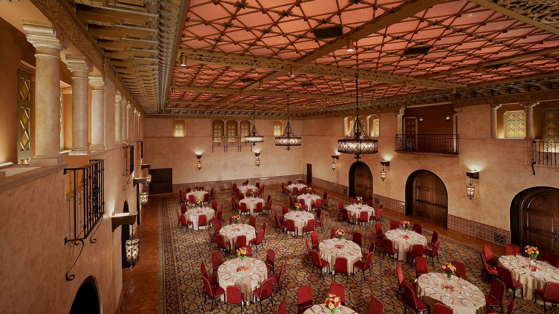 Blossom Ballroom at the Hollywood Roosevelt Hotel