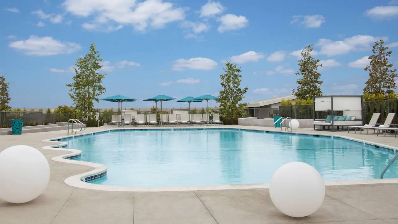 Pool at Hyatt Regency LAX