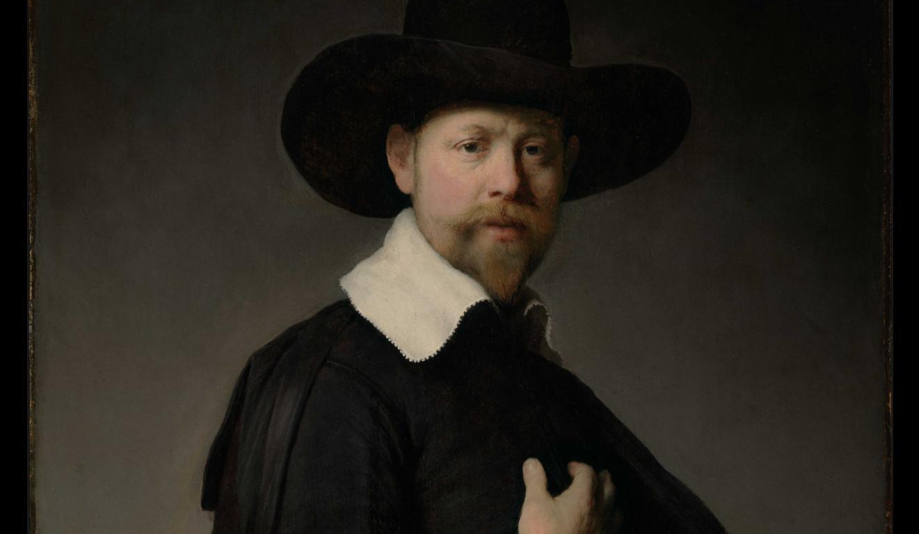 "Rembrandt ""Portrait of Marten Looten"" at LACMA"