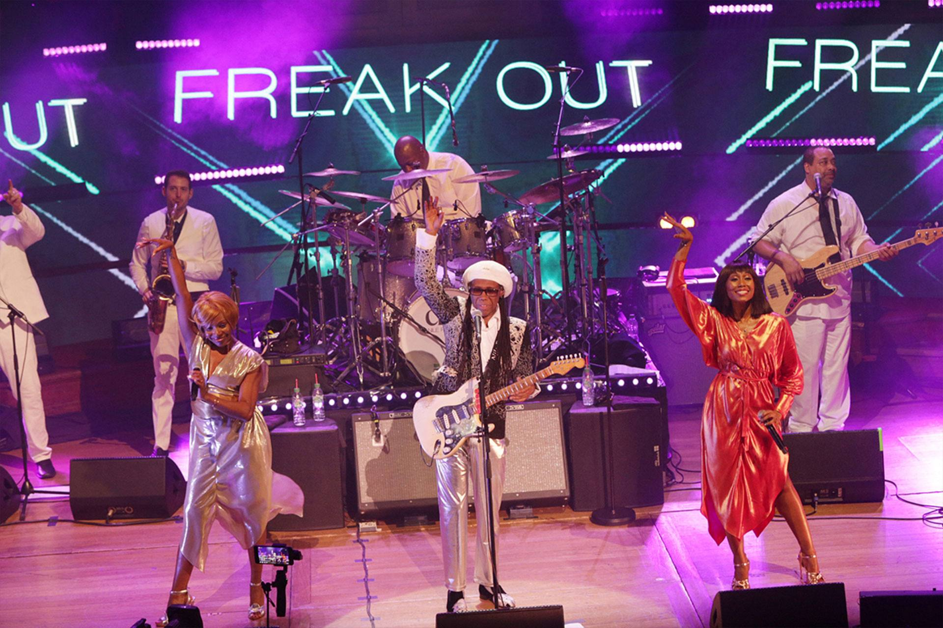 """Freak Out"" with Nile Rodgers & CHIC"