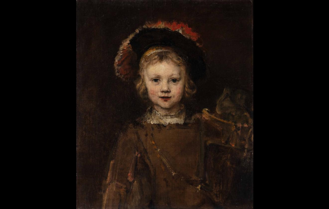 """Rembrandt """"Portrait of a Boy"""" at the Norton Simon Museum"""