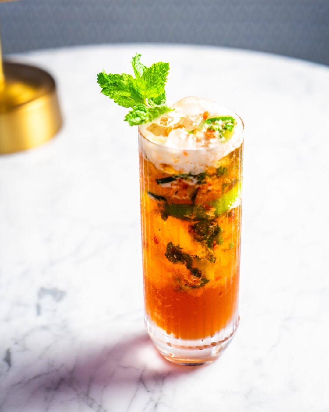 Pimm's Cup at The Draycott | Photo: @the_draycott, Instagram