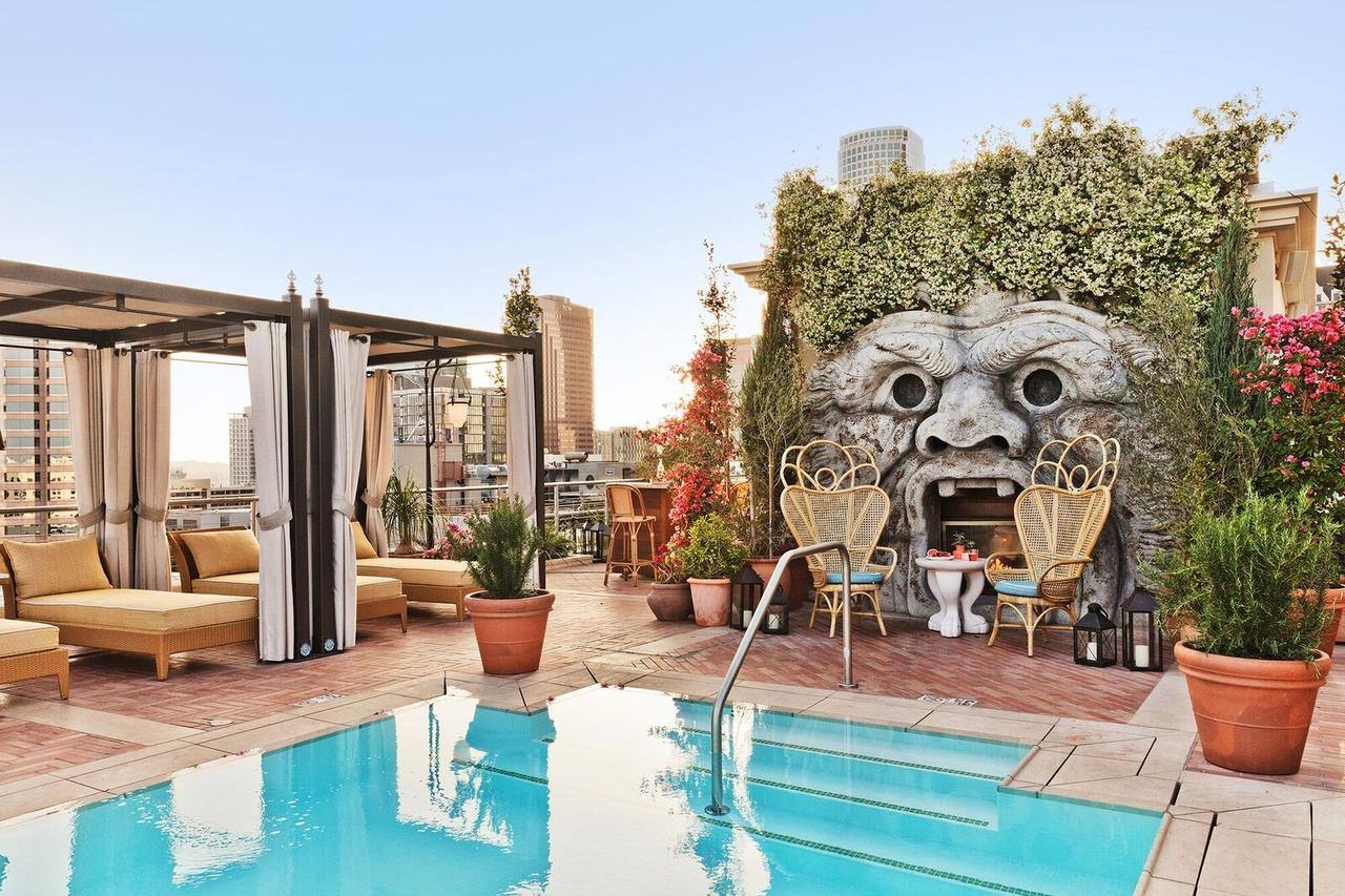 The NoMad Los Angeles Rooftop Pool