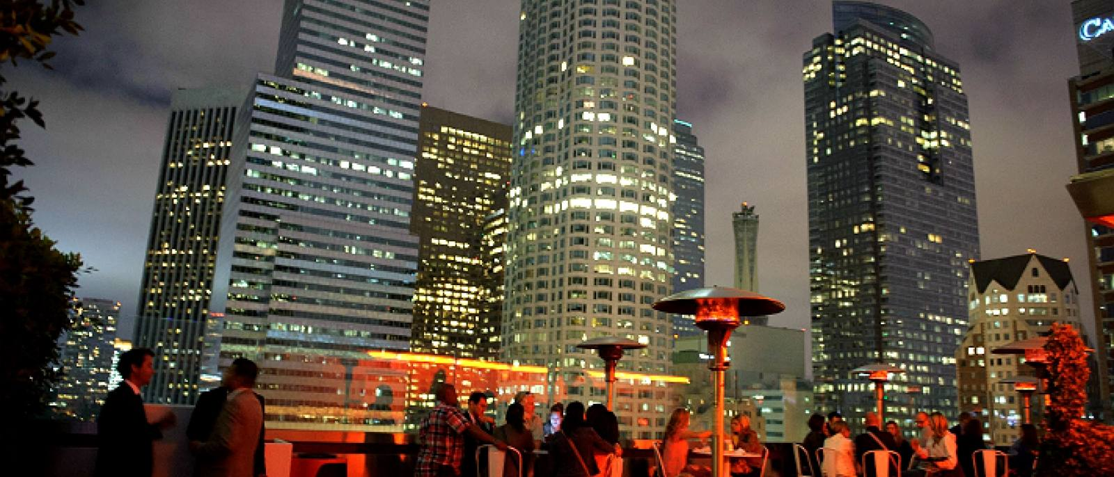 The Rooftop at The Standard Downtown L.A