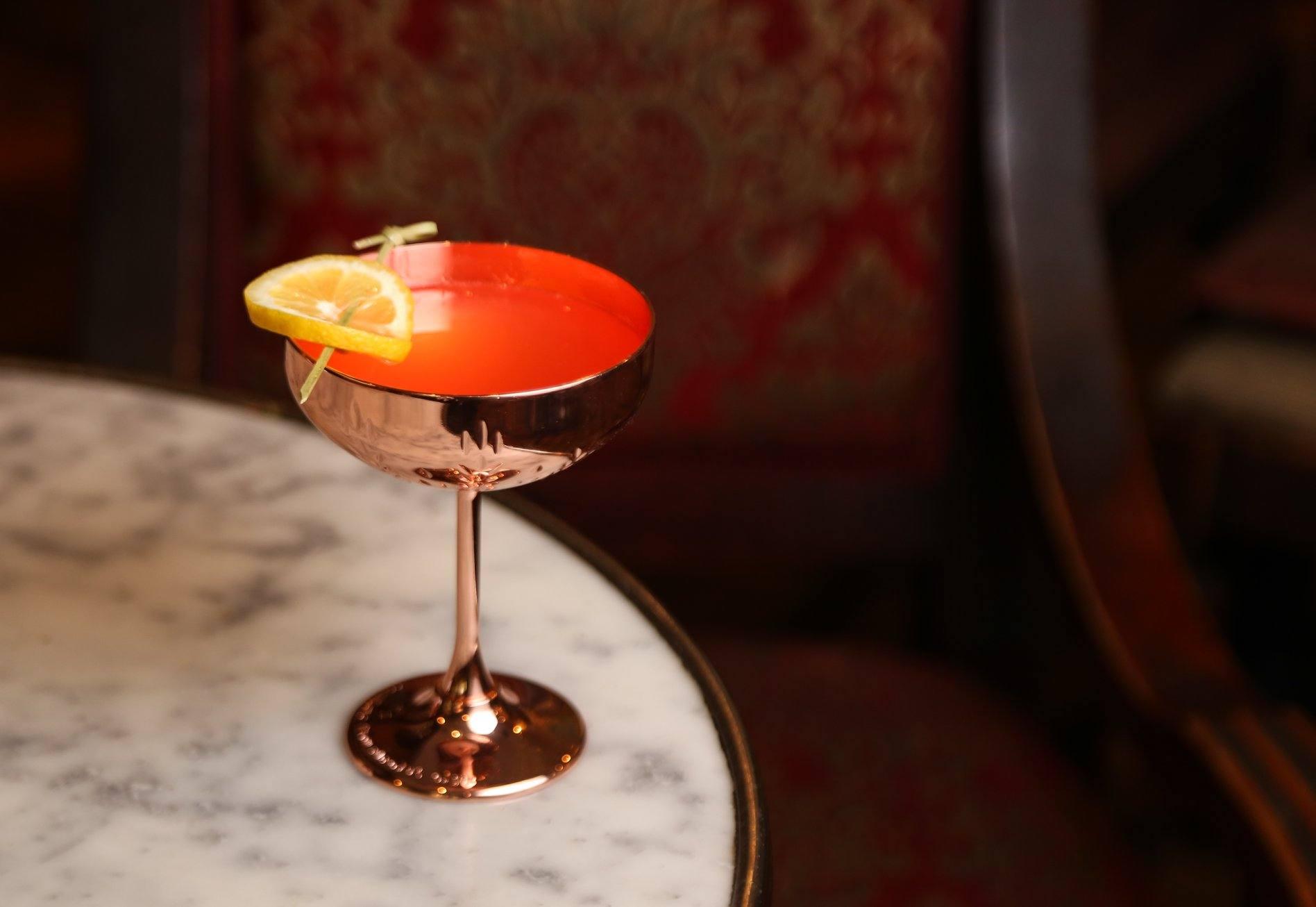 Mad Queen cocktail at Big Bar in Los Feliz