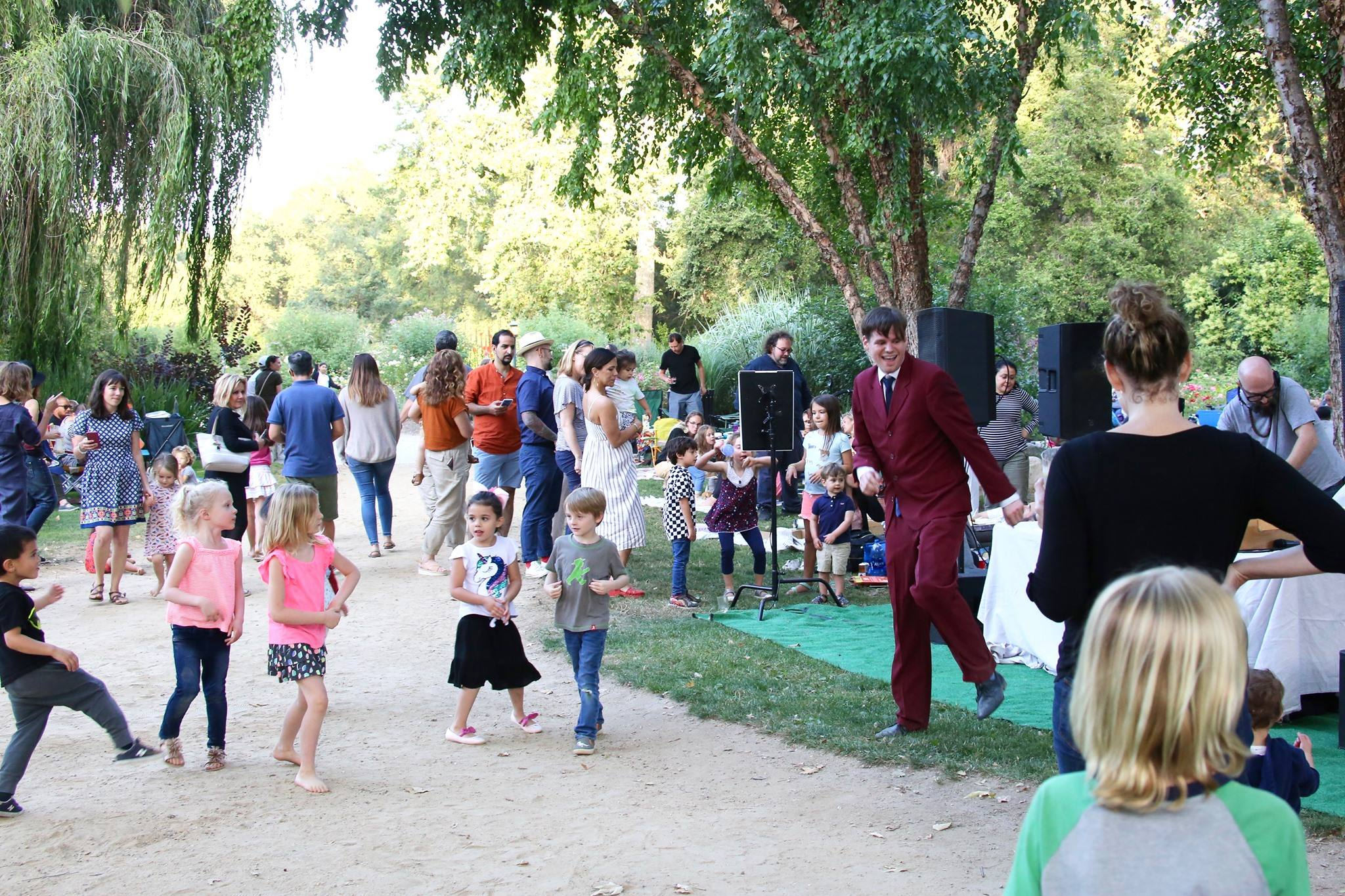 Summer Songs at Descanso Gardens